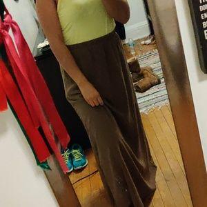 maxi beach skirt